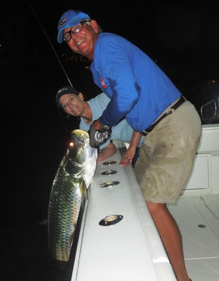 Night Fishing Boat Charters in Miami and Miami Beach, FL